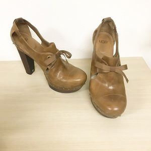94e739905a3 Women Ugg Wood Heel on Poshmark